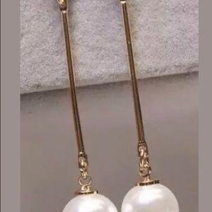 Fashion Long Outstanding Pearl Imitation